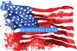 Mike Ferguson flag Morning Line